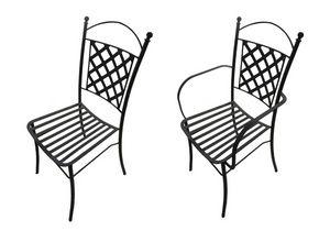 Panarea, Sedia in ferro, per esterni