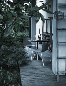 Rama Four Legs Outdoor, Sedia in poliporpilene, ideale per spazi all'aperto