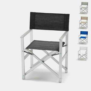 Sedia regista mare alluminio Regista � RE800LUX, Sedia da mare, richiudibile, salva spazio
