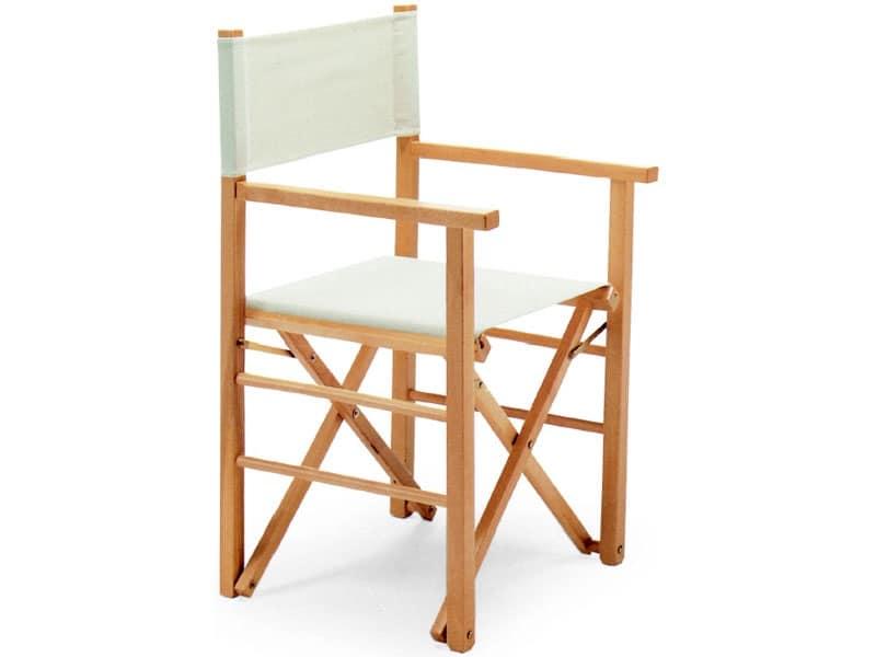 Regista P-MC, Pratica sedia pieghevole adatta per ogni uso.