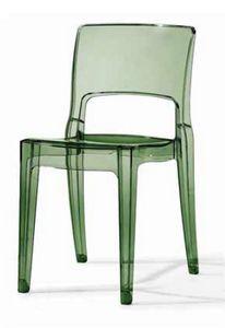 Mya, Sedia in plastica anche per uso esterno