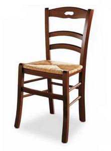 Menton, Sedia con seduta in paglia