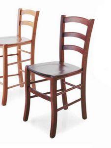 Paesana, Sedia in legno, stile rustico