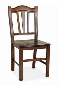 Silvana, Sedia in legno, dallo stile rustico