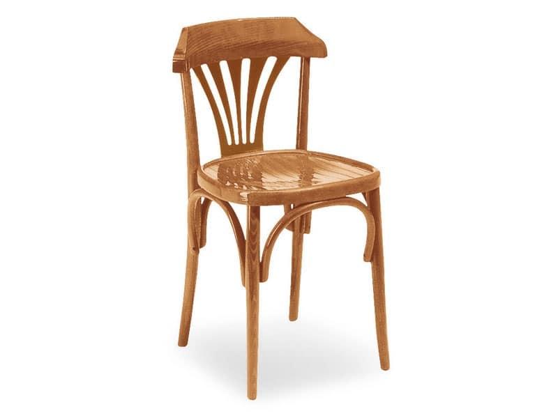 690, Sedia in legno, stile Vienna