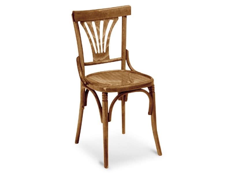720, Sedia in legno curvato per bar e pub
