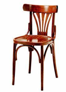 352, Sedia in legno, in stile Thonet