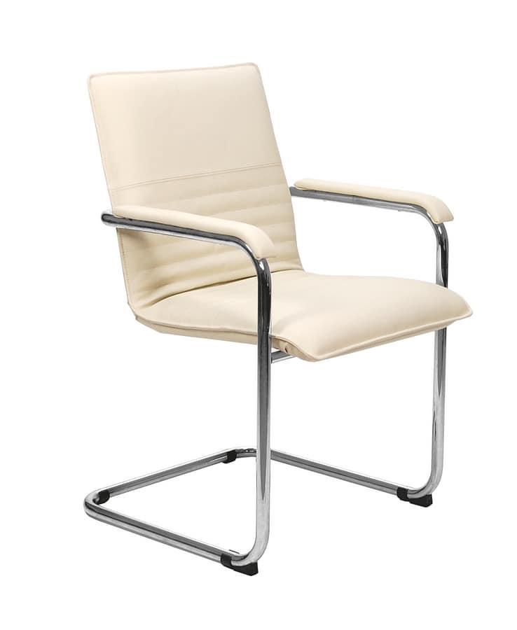 Sedia da scrivania per clienti ufficio | IDFdesign