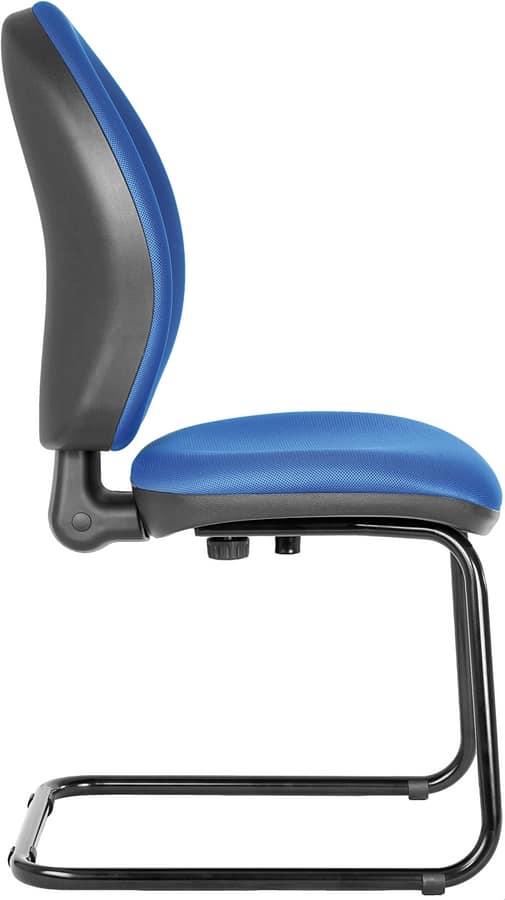 Sedia a slitta per clienti ufficio | IDFdesign