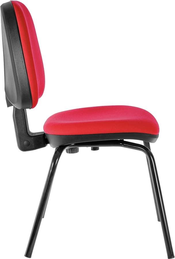 Comoda sedia per fare accomodare i clienti in ufficio ...