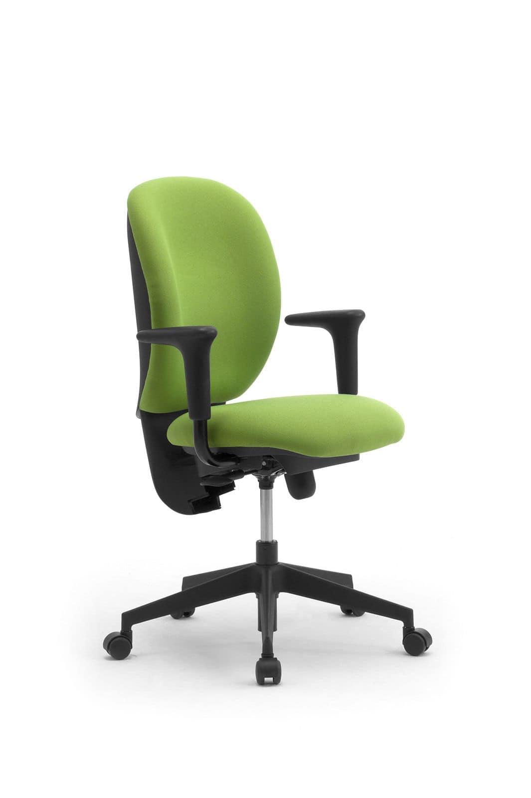 Gummy operativa 09605, Sedia operativa per ufficio, ergonomica e regolabile
