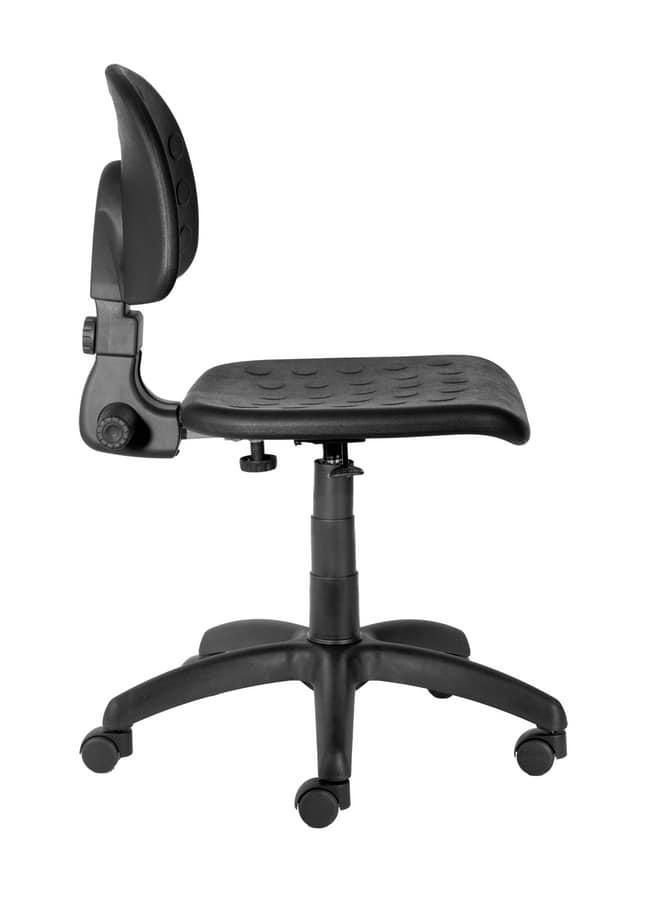 Sedia su ruote, per scrivania | IDFdesign