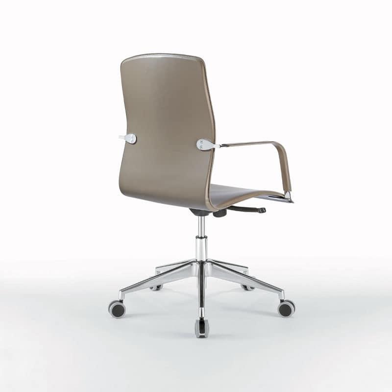 Sedia operativa su ruote per Studio professionale | IDFdesign