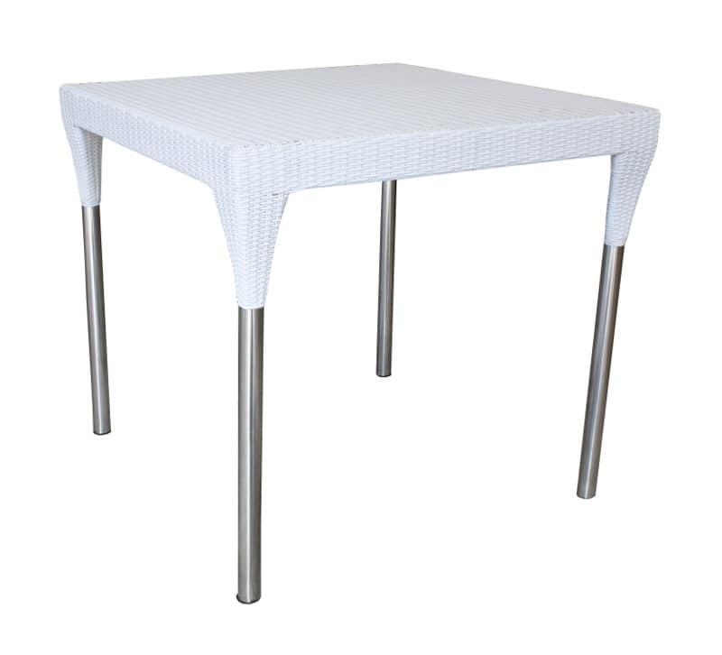 Sedute e tavolo combinabili per esterno Giardino | IDFdesign