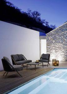 Santa Cruz lounge, Set lounge per patio