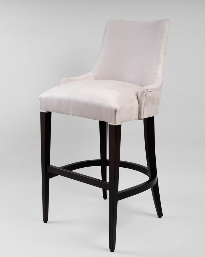 C56SG, Sgabello con comoda seduta imbottita