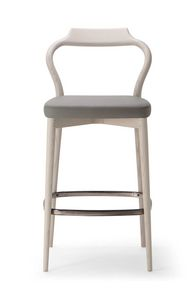 HER STOOL 023 SG, Sgabello dalle linee sinuose