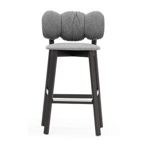 Mafleur 04283, Sgabello con seduta e schienale imbottiti