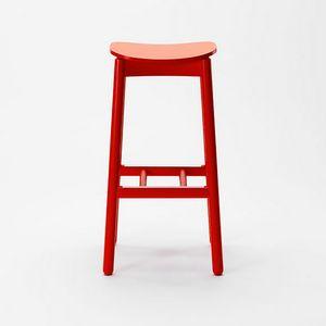 Nico stool, Sgabello in legno senza schienale