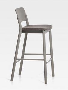 Pop, Sgabello moderno con seduta imbottita