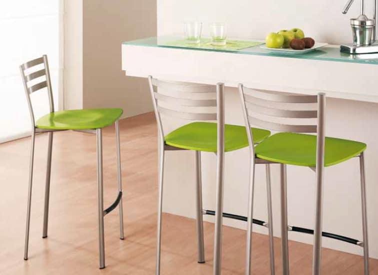 Cucina Sedie E Sgabelli.Sgabello In Metallo Per Cucina E Bar Idfdesign
