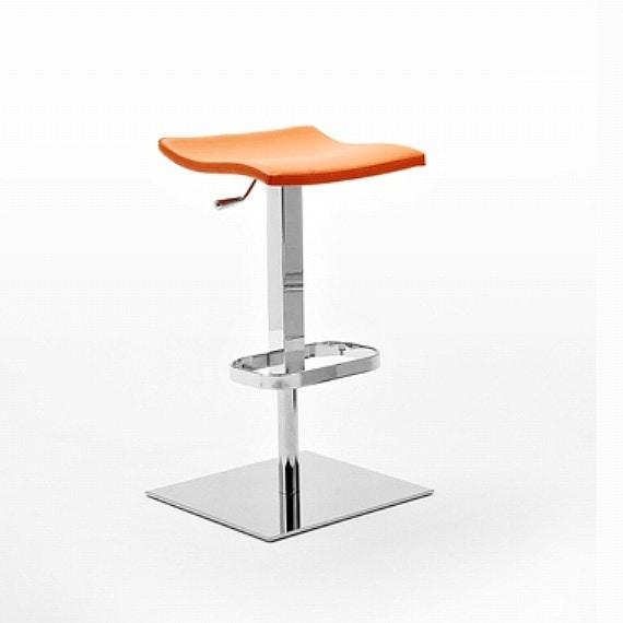Napo SG, Sgabello con seduta in legno multistrato, vari colori