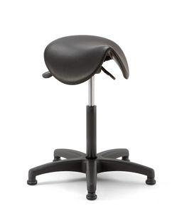 Horse 02, Sgabello con seduta a forma di sella