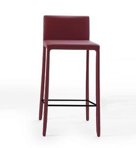 Nunes SG, Sgabello in ecopelle dal design minimale