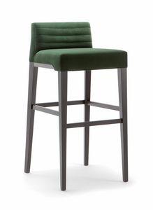 GINEVRA BAR STOOL 031 SG, Sgabello dal design contemporaneo