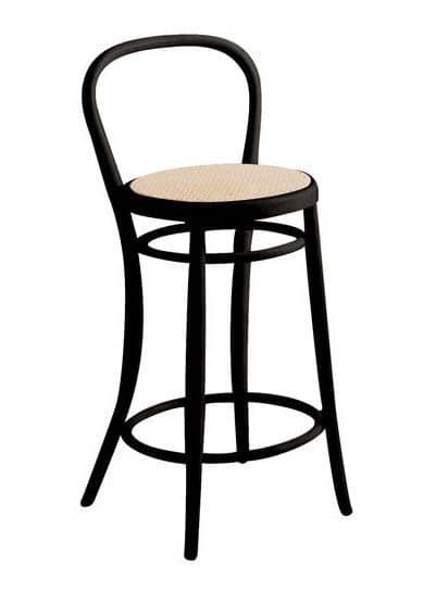 SG/03CC, Sgabello viennese in legno, diversi colori e sedute disponibili