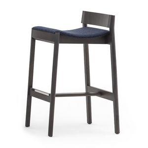 Maki 03782, Sgabello con sedile tappezzato, altezza 75 cm