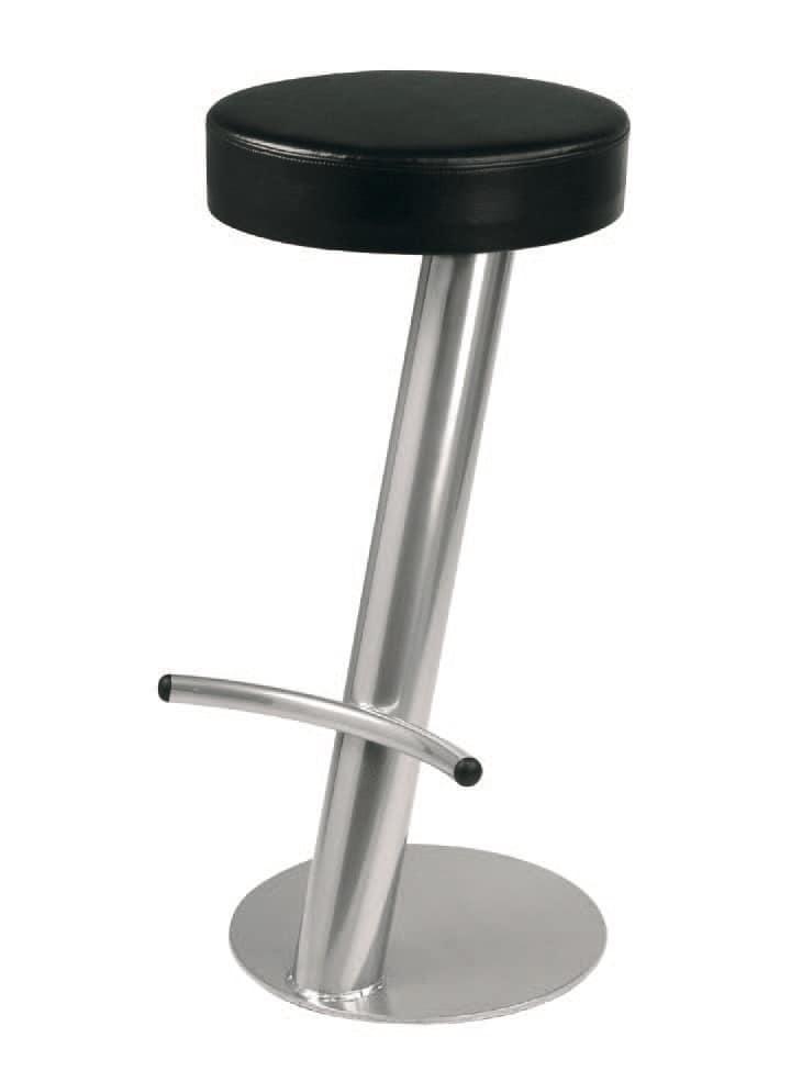 SG 019 / T, Sgabello semplice con seduta circolare, per paninoteca