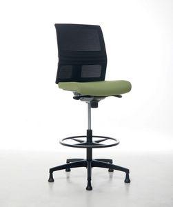 Omnia Plus Stool 02, Sgabello regolabile per ufficio