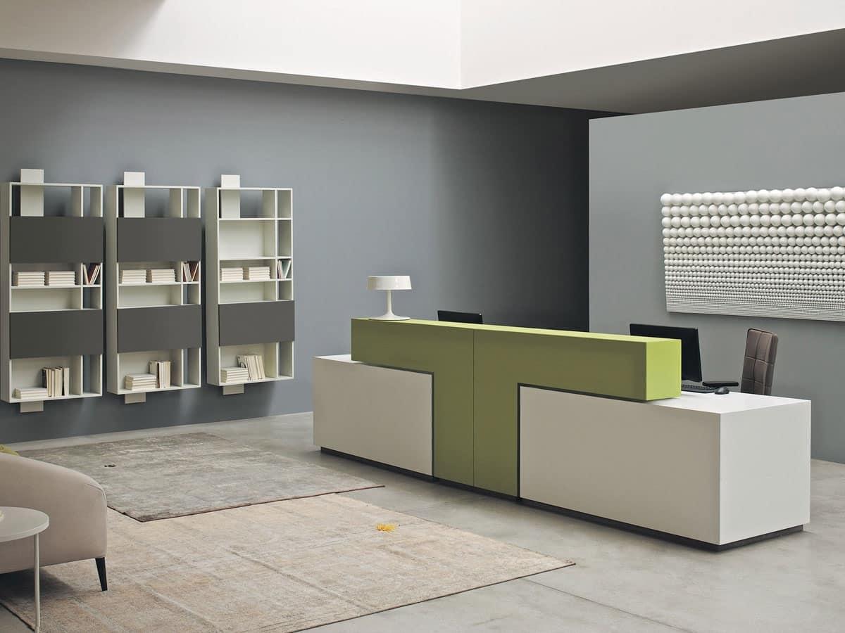 HOME P07 Ufficio Prodotti Tavoli Tavoli ufficio Design Moderno Banconi ...