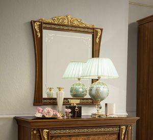 Aida specchiera, Specchiera in stile classico, con cornice in legno