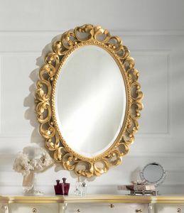 Art. 804, Specchiera ovale color oro