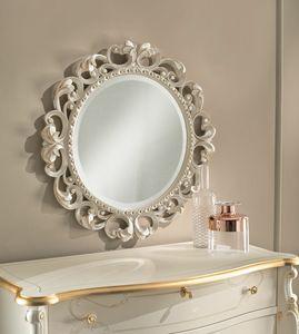 Art. 806, Specchio tondo intagliato
