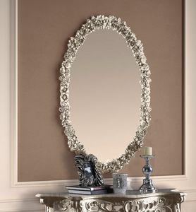 Art. 901, Specchiera ovale argento