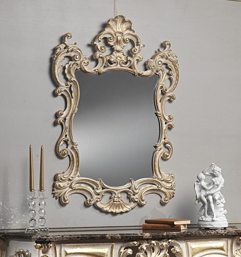 Art. 970/IN specchiera, Lussuosa specchiera intagliata