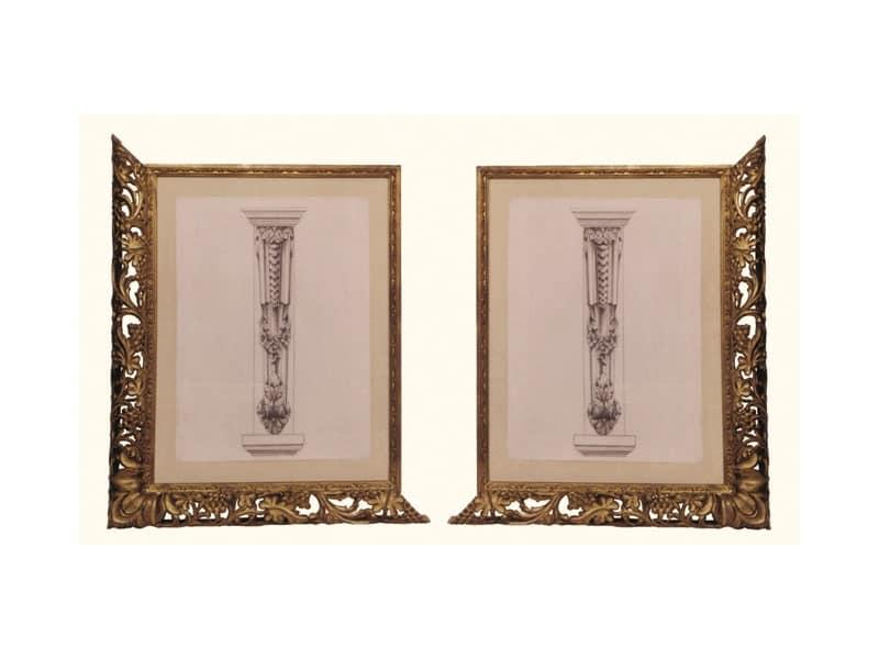Cornice art. 102, Cornice in legno di tiglio, stile veneziano