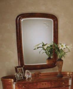 Flory specchiera, Specchiera classica rettangolare, in frassino