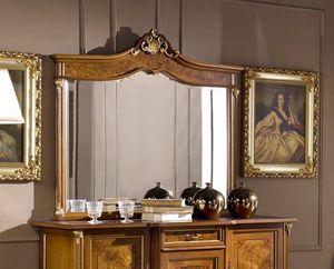 Regency specchiera, Specchiera da appoggio stile classico