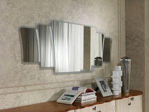SP33 Mistral specchiera, Specchiera con cornice in stile contemporaneo