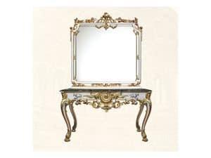 Specchiera art. 117/b, Specchiera quadrata, stile Luigi XV