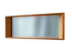 '900 5415, Specchio con cornice in legno intagliato
