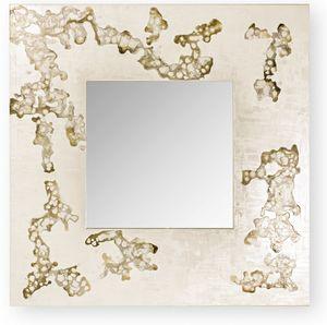 Africa Flowing, Specchiera quadrata o rettangolare, con cornice decorata