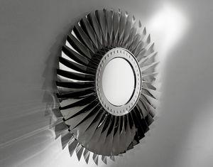 AIR-MIR0172, Specchiera realizzata con parti di aeroplano