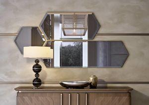 Art. 5001, Composizione di specchi con cornice in legno