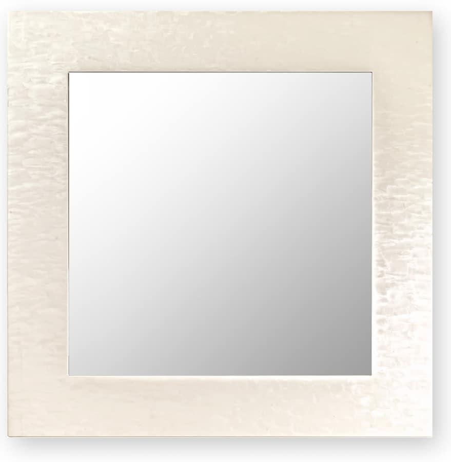 Specchio Da Parete Con Cornice In Legno Idfdesign