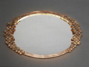 DAMA HF2019MI, Specchiera ovale in ferro
